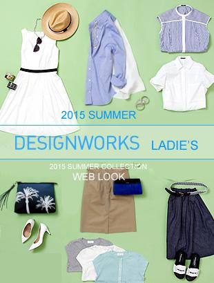 DESIGNWORKS LADIE'S 2015 S/S WEB LOOK