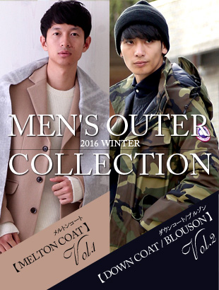 2015-2016 WINTER MEN'S OUTER COLLECTION