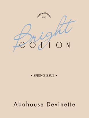 """Abahouse Devinette""""BRIGHT COTTON"""""""