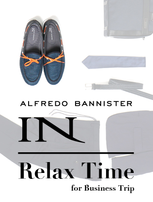 ALFREDO BANNISTER IN『Relax Time』