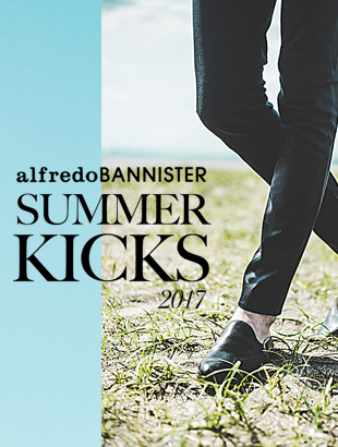 alfredoBANNISTER SUMMER KICKS