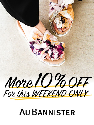 【Au BANNISTER】MORE10%OFF!FOR WEEKEND ONLY