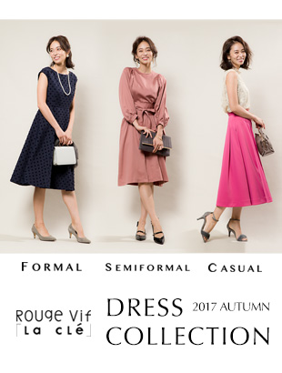 Rouge vif la cle AUTUMN DRESS COLLECTION
