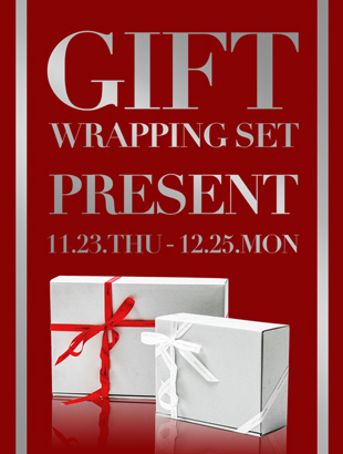 GIFT WRAPPING SETプレゼント
