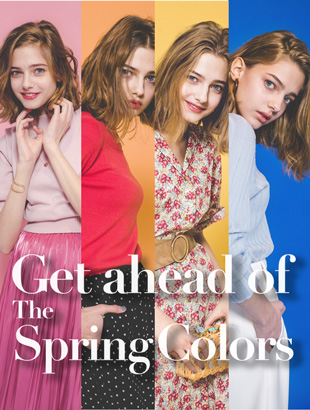 Get ahead of The Spring Colors