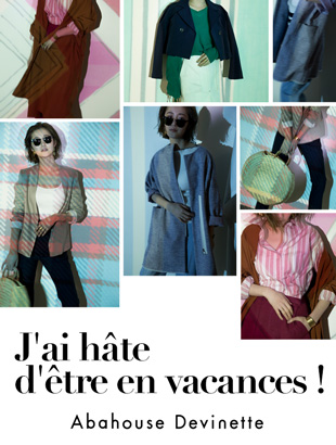 Abahouse Devinette-SPRING OUTER LOOKS