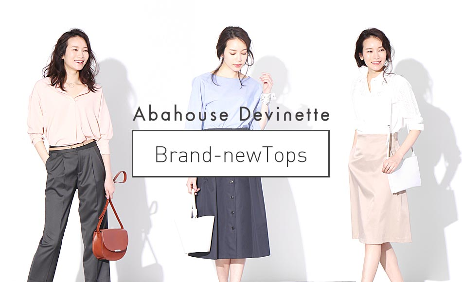 "Abahouse Devinette""Brand-new Tops"""