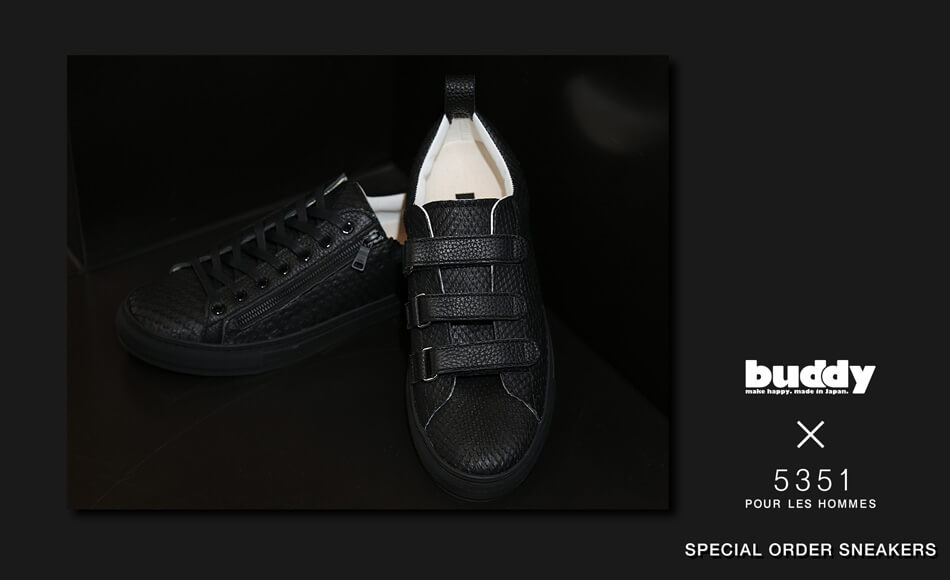 buddy × 5351POUR LES HOMMES|SPECIAL ORDER SNEAKERS