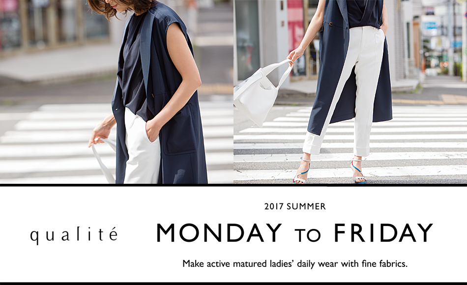 "qualite ""MONDAY TO FRIDAY"""
