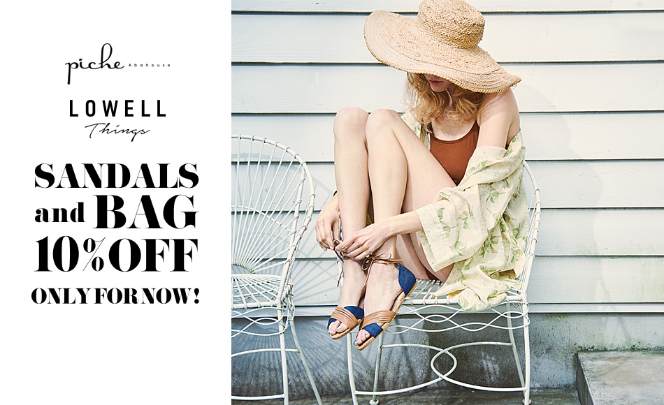 SANDALS& BAG 10%OFF ONLY FOR NOW!