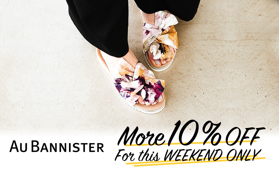 MORE10%OFF!FOR WEEKEND ONLY