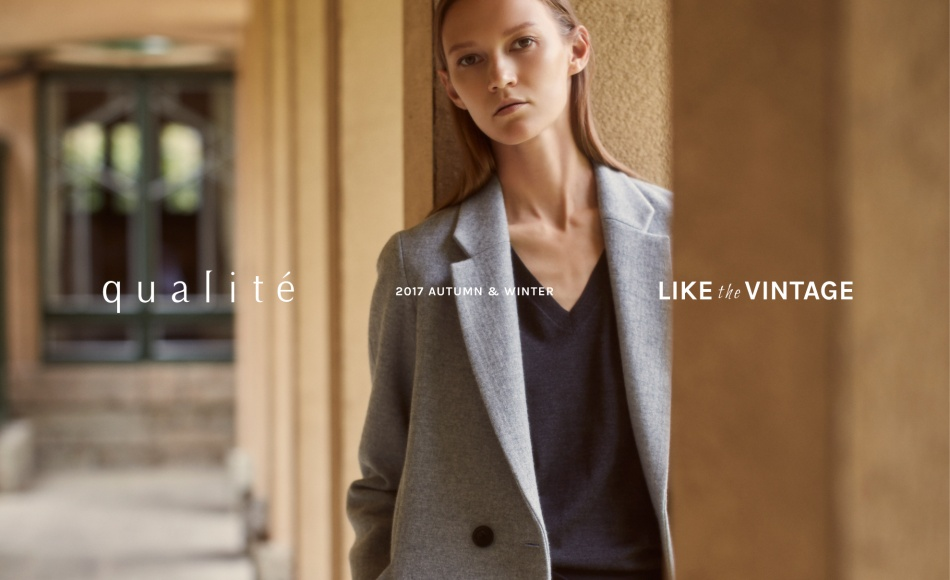 "qualite2017 AUTUMN & WINTER ""LIKE the VINTAGE"""