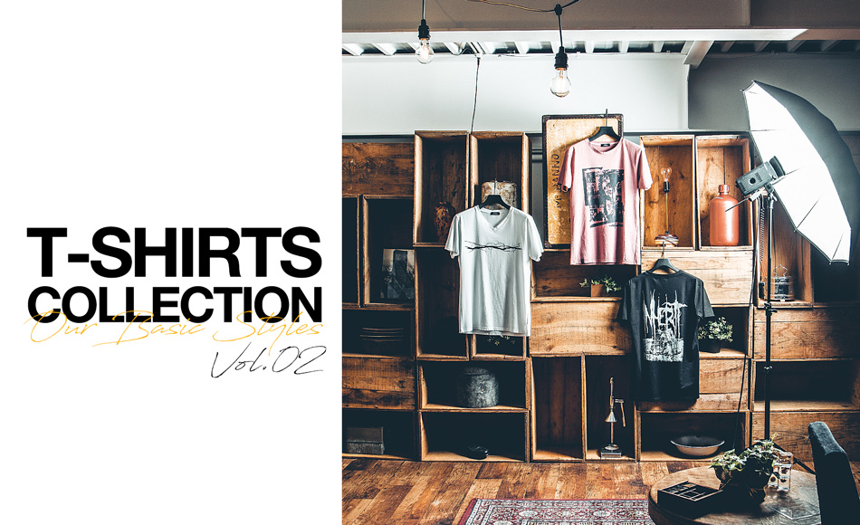 T-SHIRTS COLLECTION vol.2