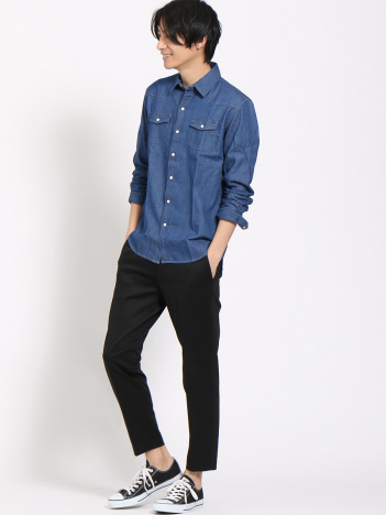 INDIGO DENIM SHIRTS