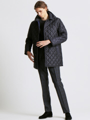 【Traditional Weatherwear】DERBY HOOD QUILTED