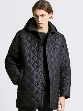ABAHOUSE - 【Traditional Weatherwear】DERBY HOOD QUILTED