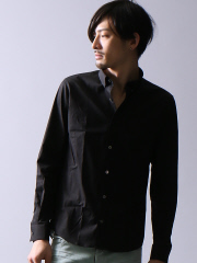 5351POUR LES HOMMES - ストレッチブロード長袖シャツ