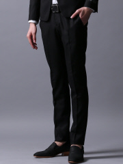 5351POUR LES HOMMES - T/Wクロスドビーストレッチテーパード