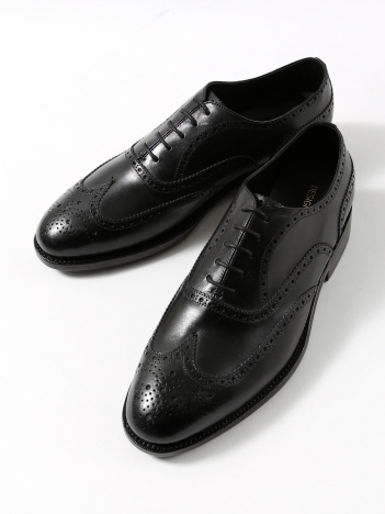 CALF/WING TIP/BLACK