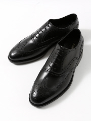 DESIGNWORKS (MEN'S) - CALF/WING TIP/BLACK