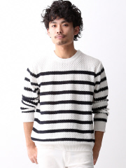 MYSELF ABAHOUSE (MEN'S) - 7GG メッシュニット