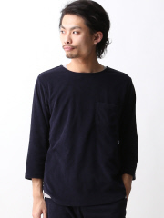 MYSELF ABAHOUSE (MEN'S) - RUSSELL別注パイル7分袖