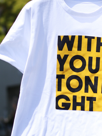 【WITHYOUTONIGHT】Tシャツ