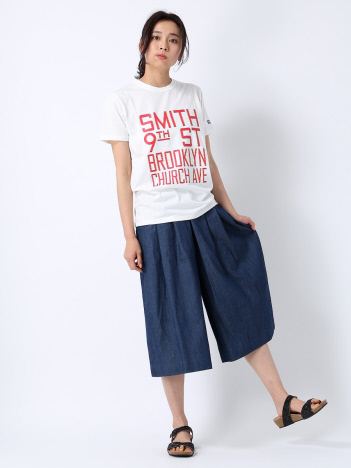 RUSSELL 別注プリントTシャツ SMITH