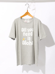 MYSELF ABAHOUSE (MEN'S) - トリプルコラボT all you need is