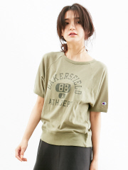 Rouge vif la cle - Champion 別注ラグランSleeve T