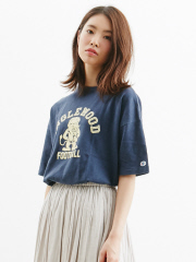 Rouge vif la cle - Champion  BIG Tシャツ