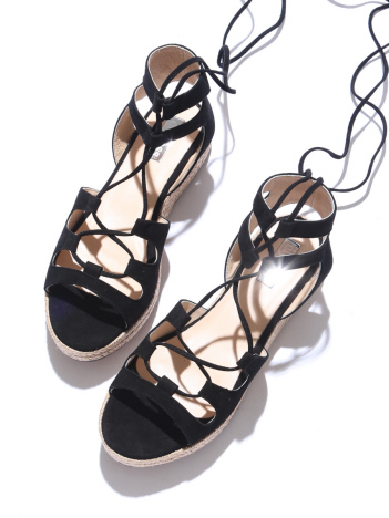 【elysess】 laceup sandals