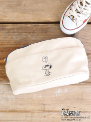 PEANUTS × interstaple ポーチ sizeS