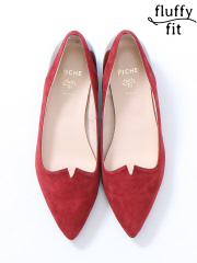 PICHE ABAHOUSE - fluffy fitVカットパンプス