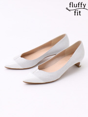 PICHE ABAHOUSE - fluffy fit3.5cmVカットパンプス【予約】