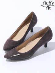 PICHE ABAHOUSE - fluffy fit5.5cmパンプス【予約】