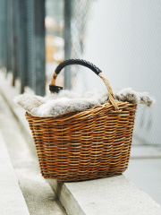 everyday by collex - ONE HANDLE BASKET FUR付