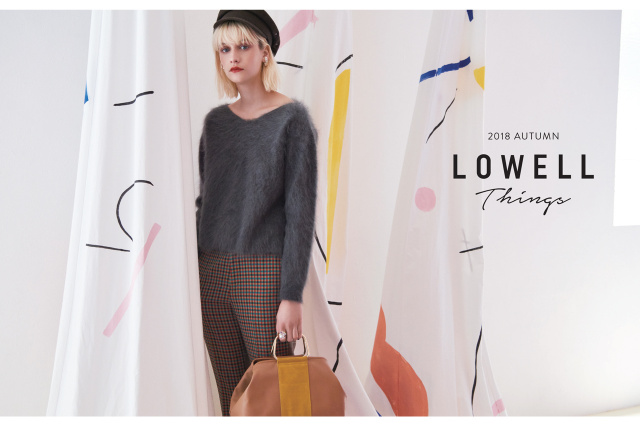 "LOWELL Things ""2018 AUTUMN/WINTER LOOK BOOK"""